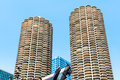 Marina City Towers, Chicago Royalty Free Stock Photo