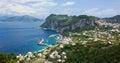 Marina grande capri island italy campania is an in the tyrrhenian sea near naples Stock Photography
