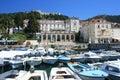 Marina on Hvar, Croatia Royalty Free Stock Photo