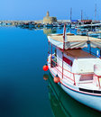 Marina and Kyrenia Castle Royalty Free Stock Photos