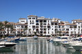 Marina in La Duquesa. Spain Stock Photo