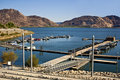 Marina at Lake Perris Stock Image