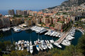 Marina in Monte Carlo Royalty Free Stock Photos