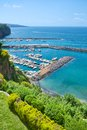 Marina near sorrento di cassano gulf of naples italy Stock Photography