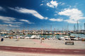 Marina at Palma de Mallorca Spain Stock Images