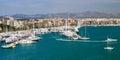 Marina port in palma de mallorca at balearic islands spain Stock Photos