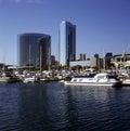 Marina San Diego 免版税图库摄影