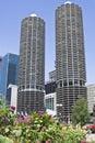 Marina Towers Stock Image