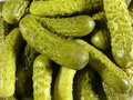 Marinaded cucumbers Royalty Free Stock Photo