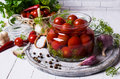 Marinated cherry tomatoes