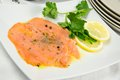 Marinated salmon Royalty Free Stock Photo