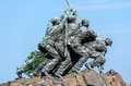 Marine corps war memorial iwo jima washington dc usa Stock Photography