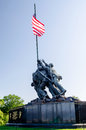 Marine corps war memorial iwo jima washington dc usa Royalty Free Stock Images