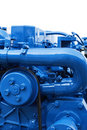Marine Diesel Engine Royalty Free Stock Photography