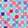 Marine dots background Stock Photography