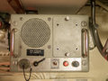 Marine intercom an old as used on an old war ship or submarine Royalty Free Stock Photos
