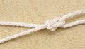 Marine knot. Royalty Free Stock Photo