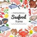 Marine Products Frame Background