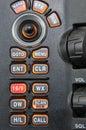 Marine radion control panel Stock Photography