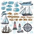 Marine Sketch Set