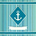 Marine striped old background Royalty Free Stock Image