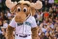 The Mariners Moose Mascot