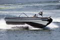 Marines speedboat Stock Photos