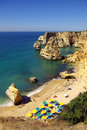 Marinha Beach Stock Photo