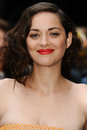 Marion cotillard arriving european premiere dark knight rises odeon leicester square london picture steve vas featureflash Stock Image