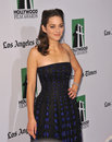 Marion cotillard th annual hollywood film awards beverly hilton hotel october beverly hills ca picture paul smith featureflash Stock Images