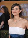 Marion cotillard at the th annual screen actors guild awards at the shrine auditorium los angeles january los angeles ca picture Royalty Free Stock Photo