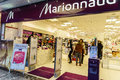 Marionnaud perfumery in central geneva switzeland is the third largest chain of perfume and cosmetics in europe Stock Image