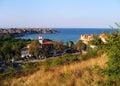 Maritime bulgarische Stadt. Stockfotos