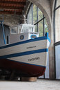 Maritime museum barcelona a display at the museu maritim in spain Royalty Free Stock Image