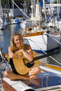 Maritime Music Royalty Free Stock Photo