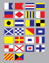 Maritime Signal Flags Royalty Free Stock Photo