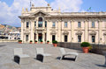 The maritime station of genoa italy Royalty Free Stock Photography