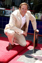 Mark burnett at the star on the hollywood walk of fame ceremony in hollywood ca on july Royalty Free Stock Photo
