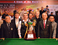 Mark davis beat neil robertson bangkok thailand sep in the final to win the sangsom six red world championship at montien Royalty Free Stock Photography