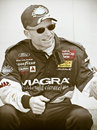 Mark Martin NASCAR driver Stock Photography