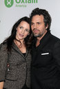 Mark ruffalo kristen davis and at the oxfam party at esquire house la private location beverly hills ca Stock Image