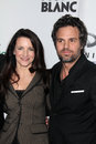 Mark ruffalo kristen davis and at the oxfam party at esquire house la private location beverly hills ca Stock Images