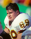 Mark schlereth washington redskins Fotografie Stock Libere da Diritti