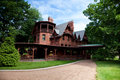 Mark Twain House Royalty Free Stock Photo