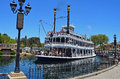 Mark Twain Riverboat Arkivbilder