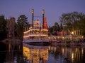 Mark Twain steamboat at Disneyland Royalty Free Stock Photo