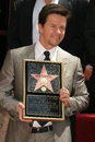 Mark wahlberg at s star ceremony on the hollywood walk of fame hollywood ca Stock Photo