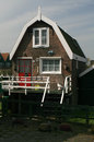 Marken typical house in traditional fisherman s village near amsterdam netherlands Stock Image
