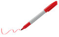 Marker Pen - Red Royalty Free Stock Photo