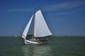 Markermeer, Holland. Saling Boat